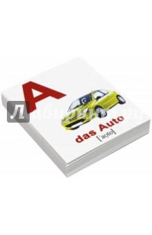 Комплект карточек Мини-30 das Alphabet / Алфавит (немецкий язык) - Епанова, Носова