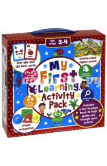 My First Learning Activity Pack (+ flashcards)