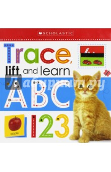 Trace, Lift, and Learn. ABC & 123 (board book)