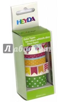 Купить Набор декоративных клеевых лент №4 (4 вида, 15мм х 5м) ISBN: 4005329124334