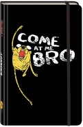 """Блокнот """"Джейк. Come at me, bro"""", А5 (с резинкой) обложка книги"""