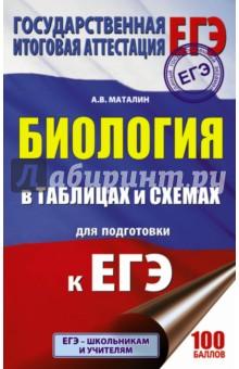 Купить Андрей Маталин: ЕГЭ. Биология в таблицах и схемах для подготовки ISBN: 978-5-17-103250-0