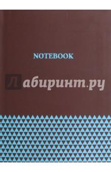Купить Записная книжка А6+,БИРЮЗА НА ЧЕРНОМ,интегр,45759 ISBN: 4606008379924