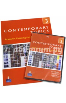 Contemporary Topics 3. Advanced. Academic Listening and Note Taking Skills (+DVD) - Beglar, Murray