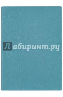 Купить Ежедневник недатированный 160 листов, А6+, НАППА БИРЮЗОВЫЙ (45268) ISBN: 4606008375018