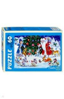 Купить Puzzle-60 Новогодний хоровод (П60-7528) ISBN: 466-5-297-77528-2