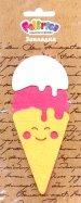 "Иллюстрация 2 из 5 для <b>Закладка</b> из фетра ""<b>Мороженое</b> ..."