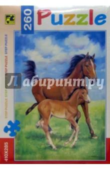 Step Puzzle-260 74032 Лошади