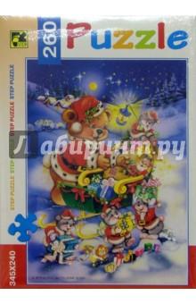 Step Puzzle-260 74024 Мишка с подарками