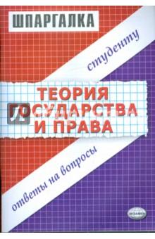 Шпаргалка по теории государства и права - Антон Селянин