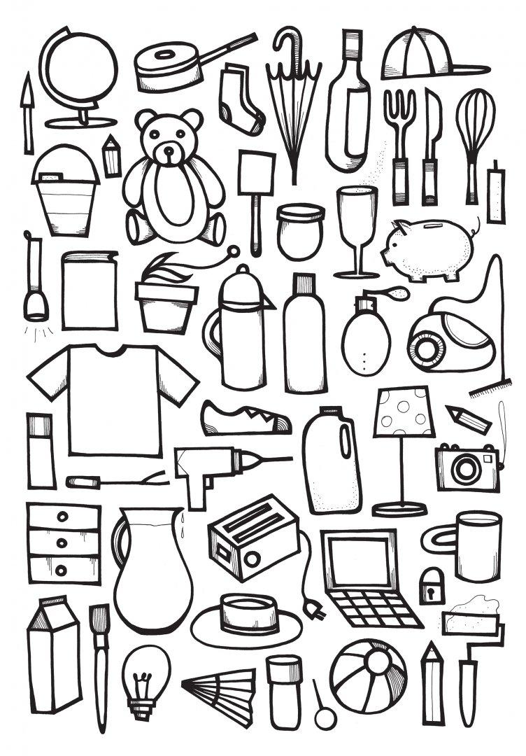 картинки с рисовать предметы сэкономить ремонте
