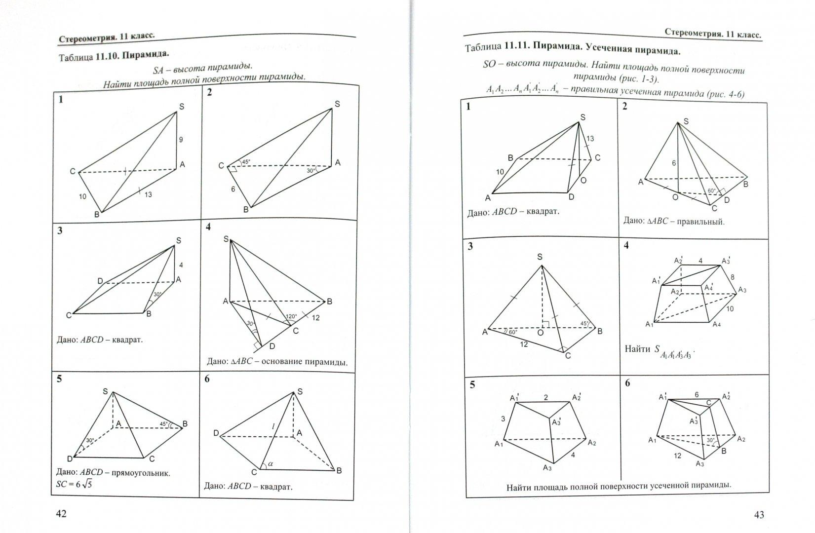 Иллюстрация 1 из 11 для Геометрия. 10-11 классы. Задачи и упражнения на готовых чертежах - Ефим Рабинович   Лабиринт - книги. Источник: Лабиринт