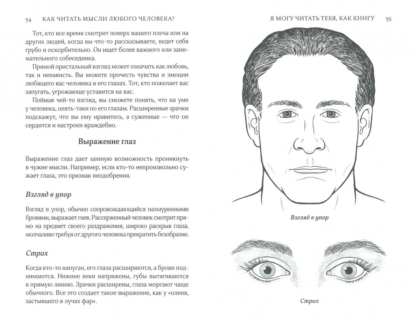 Физиогномика лица в картинках глаза