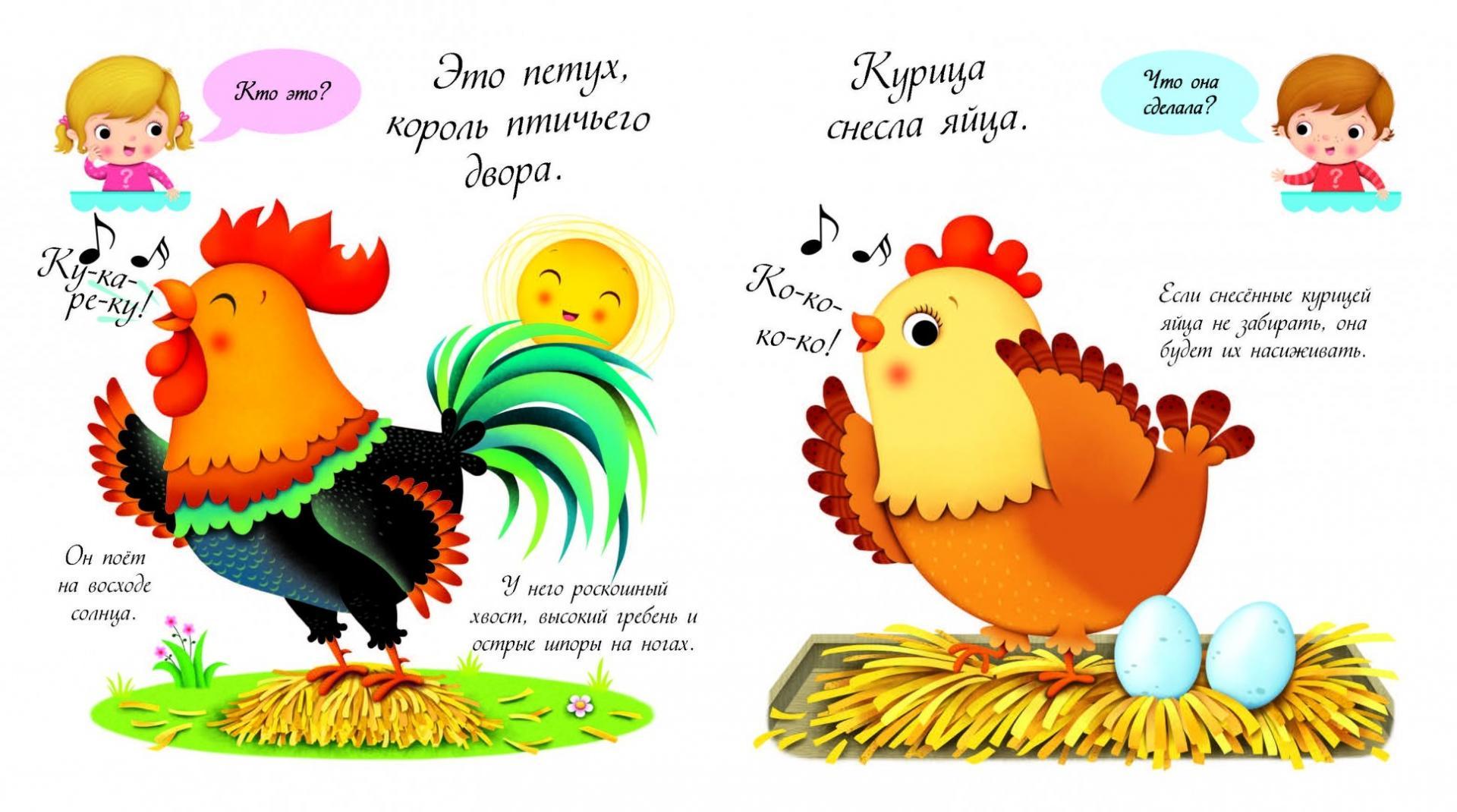 цыпленок стихи для самых маленьких профессиональный