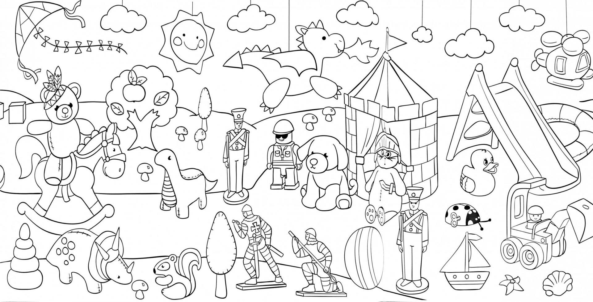 щёкино рисунок магазин игрушек карандашом прослоить
