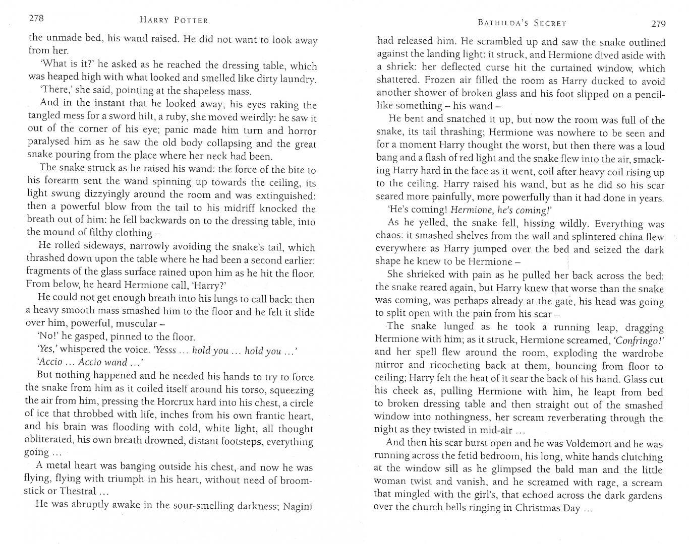 Иллюстрация 1 из 11 для Harry Potter and the Deathly Hallows - Joanne Rowling   Лабиринт - книги. Источник: Лабиринт