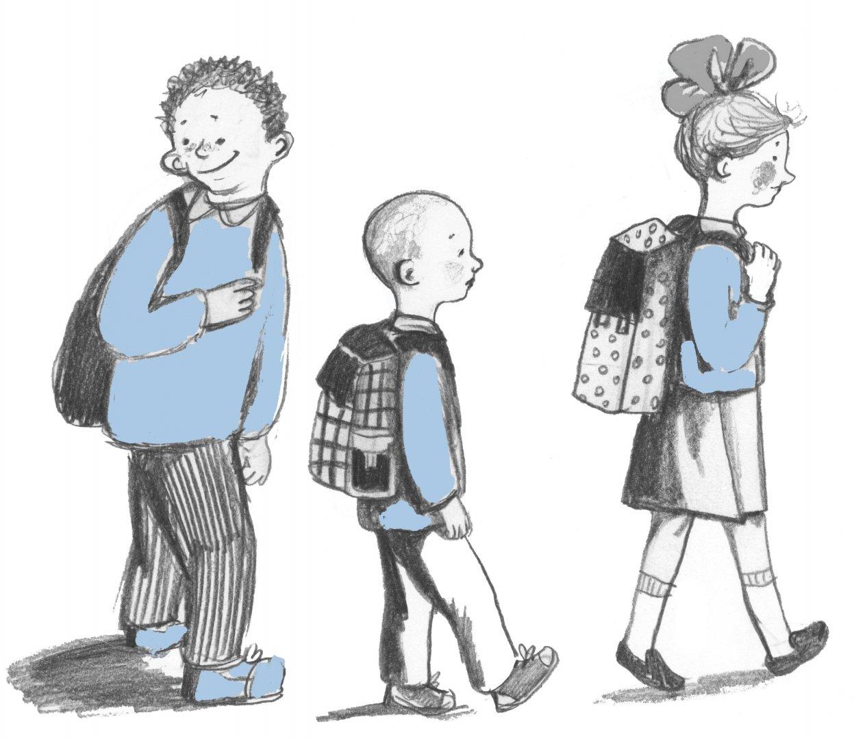 Иллюстрация 1 из 18 для Рассказы про Франца и школу - Кристине Нестлингер   Лабиринт - книги. Источник: Лабиринт