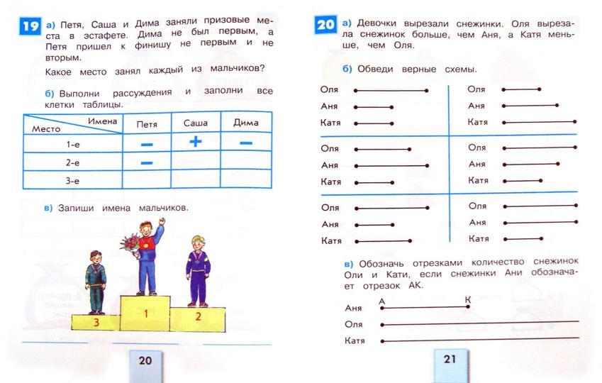 Логические задачи с решением для начальных классов решение задачи 5 букв