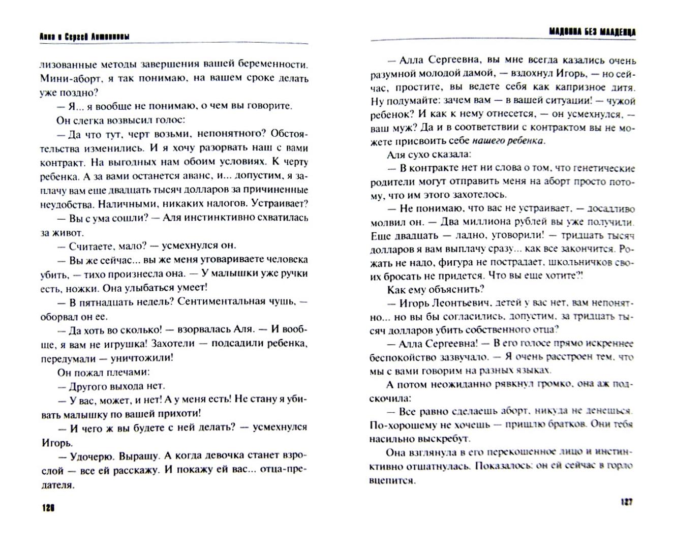 Иллюстрация 1 из 23 для Мадонна без младенца - Литвинова, Литвинов   Лабиринт - книги. Источник: Лабиринт