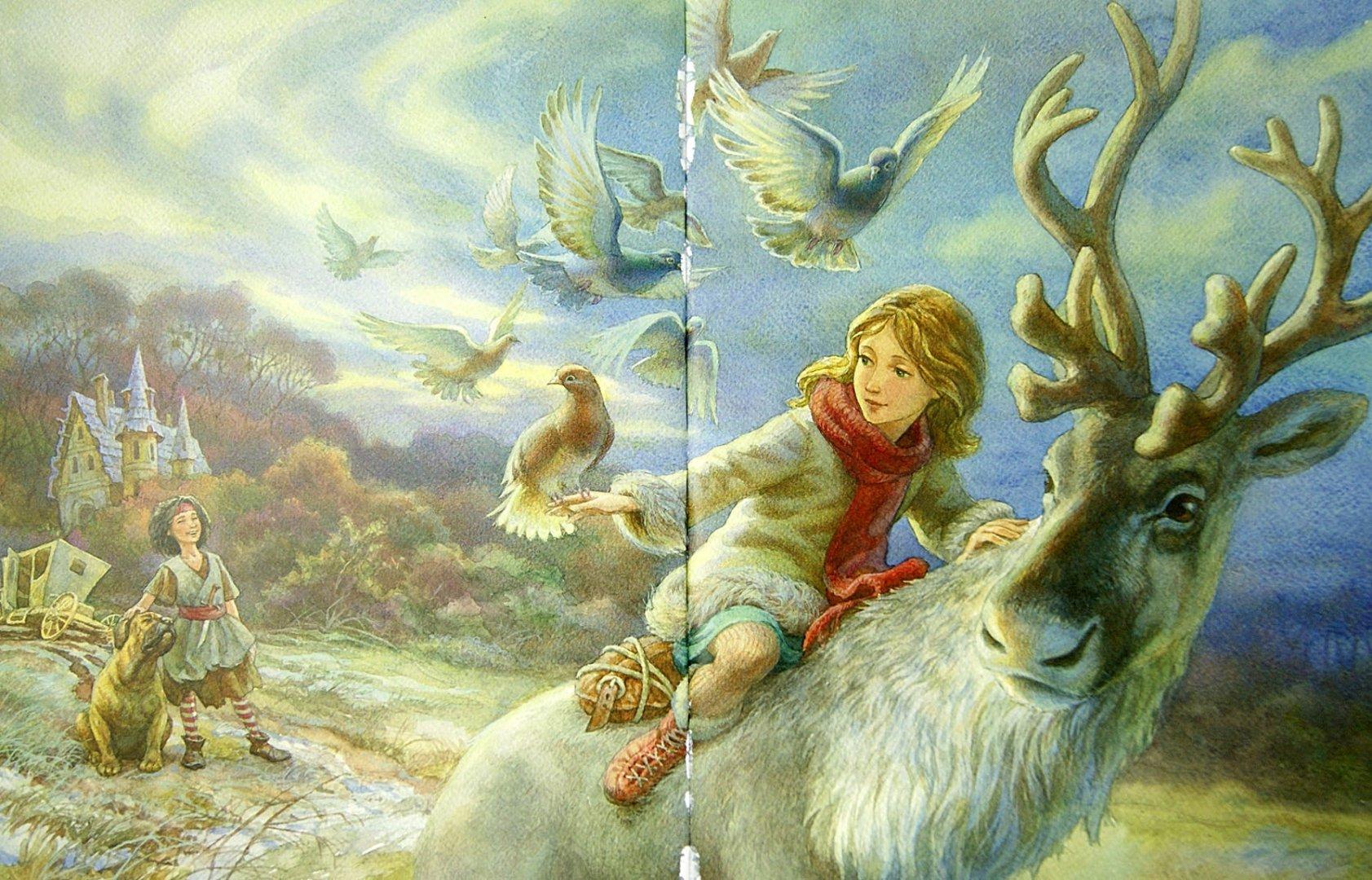 снежная королева в сюжетных картинках посадили одну пальму