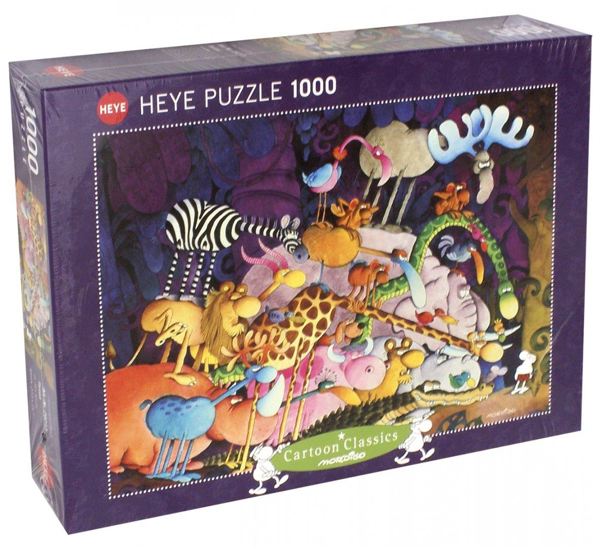 "Иллюстрация 1 из 5 для Puzzle-1000 ""Тарзан, Mordillo"" (29213) | Лабиринт - игрушки. Источник: Лабиринт"