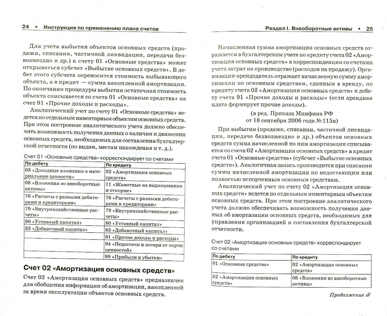 Иллюстрация 1 из 10 для Новый план счетов бухгалтерского учета с инструкцией по применению   Лабиринт - книги. Источник: Лабиринт