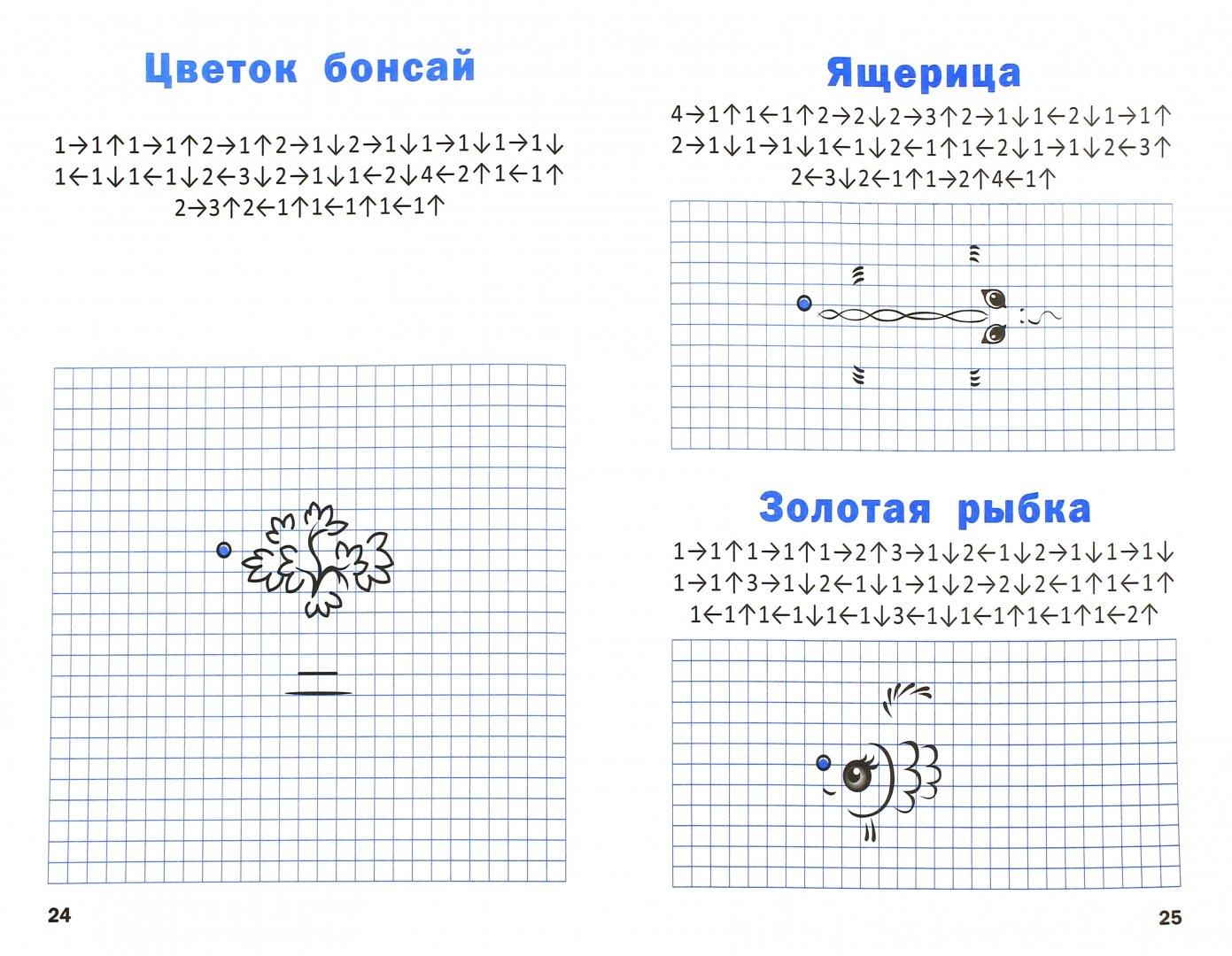 Иллюстрация 1 из 6 для Графические диктанты. 1 класс. Начальный уровень. ФГОС - Вениамин Мёдов   Лабиринт - книги. Источник: Лабиринт