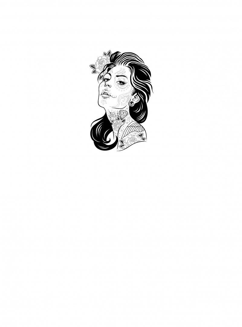 Иллюстрация 1 из 9 для Татуировки. Раскраска-антистресс ...