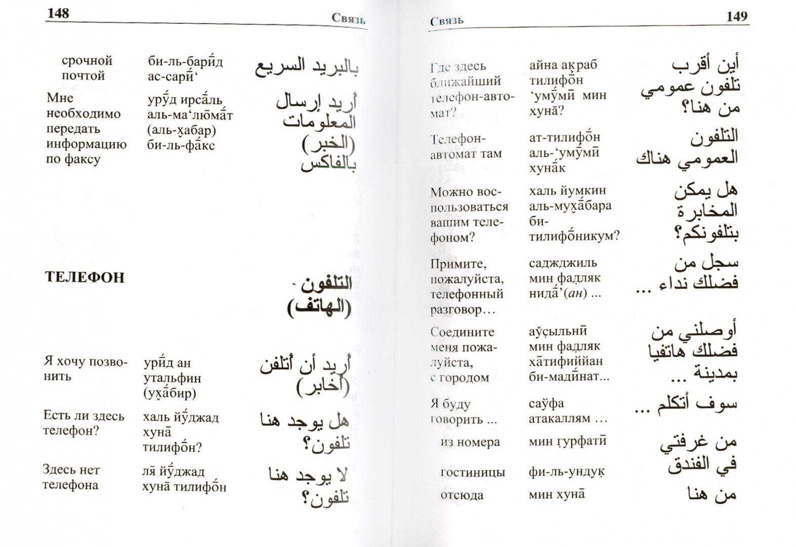 Арабские слова и перевод картинки
