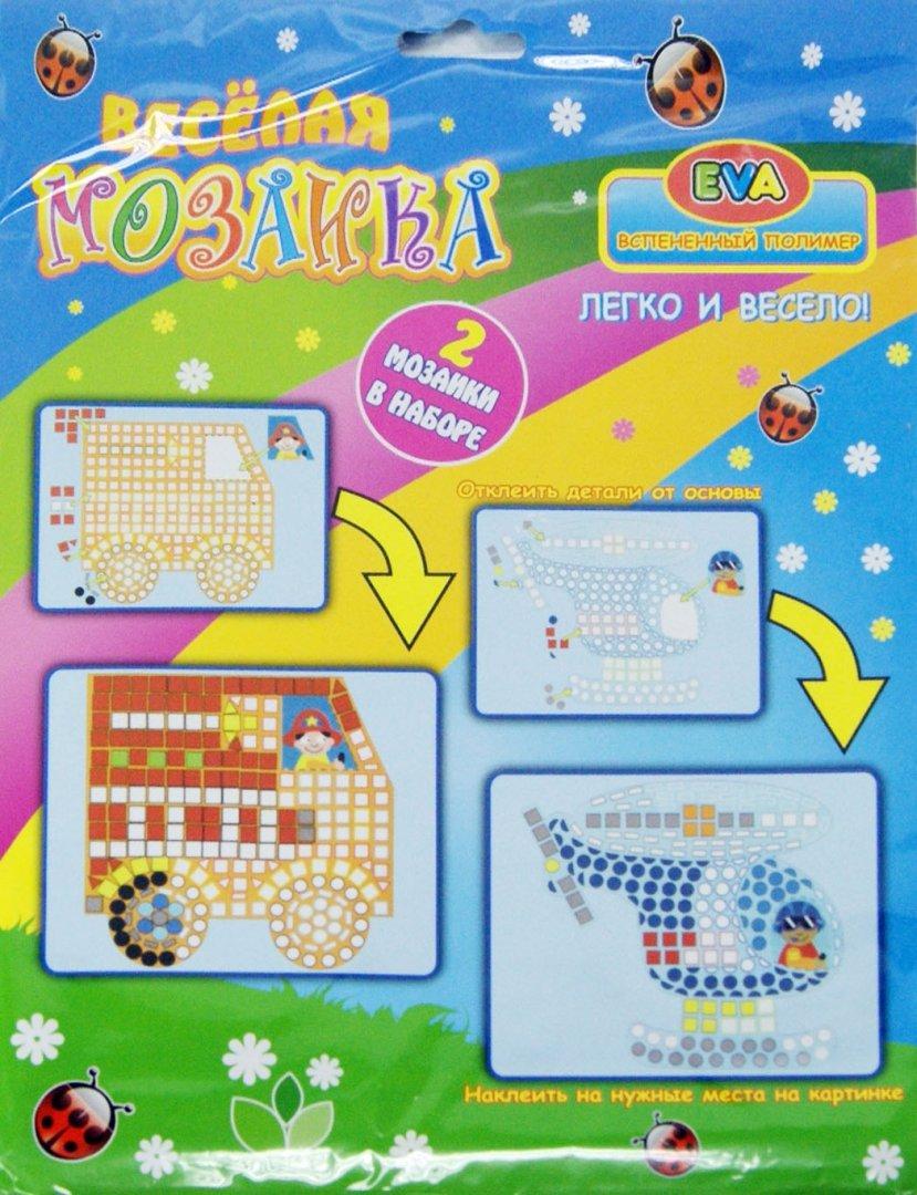 Иллюстрация 1 из 4 для Веселая мозаика, объемная мозаика из EVA (DT-1022) | Лабиринт - игрушки. Источник: Лабиринт