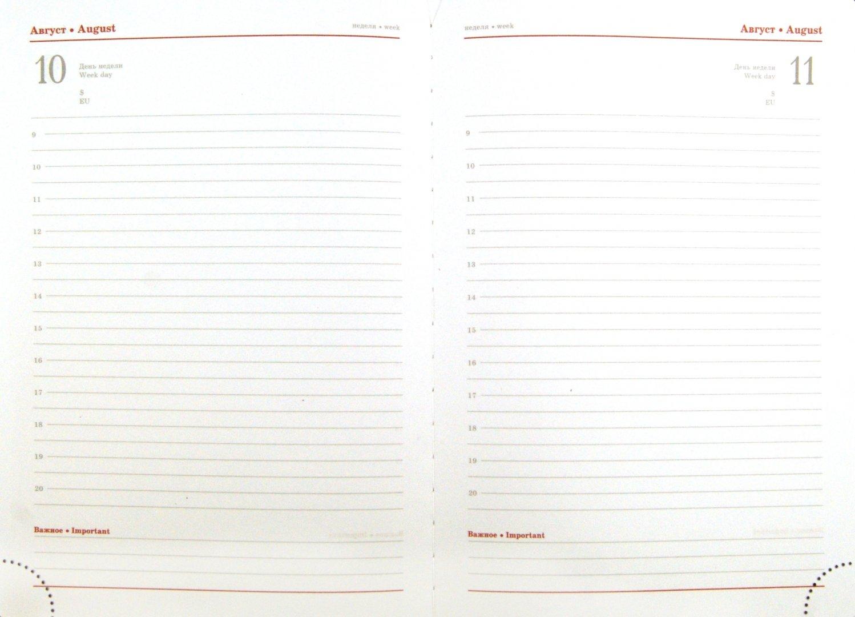 Иллюстрация 1 из 3 для Ежедневник полудатированный 384 страницы, А5, коричневый (22904)   Лабиринт - канцтовы. Источник: Лабиринт