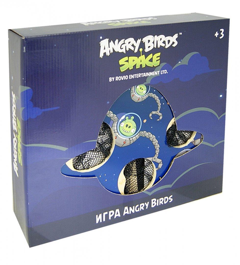 """Иллюстрация 1 из 2 для Деревянная настольная игра с мишенями """"Angry Birds. Space""""   Лабиринт - игрушки. Источник: Лабиринт"""