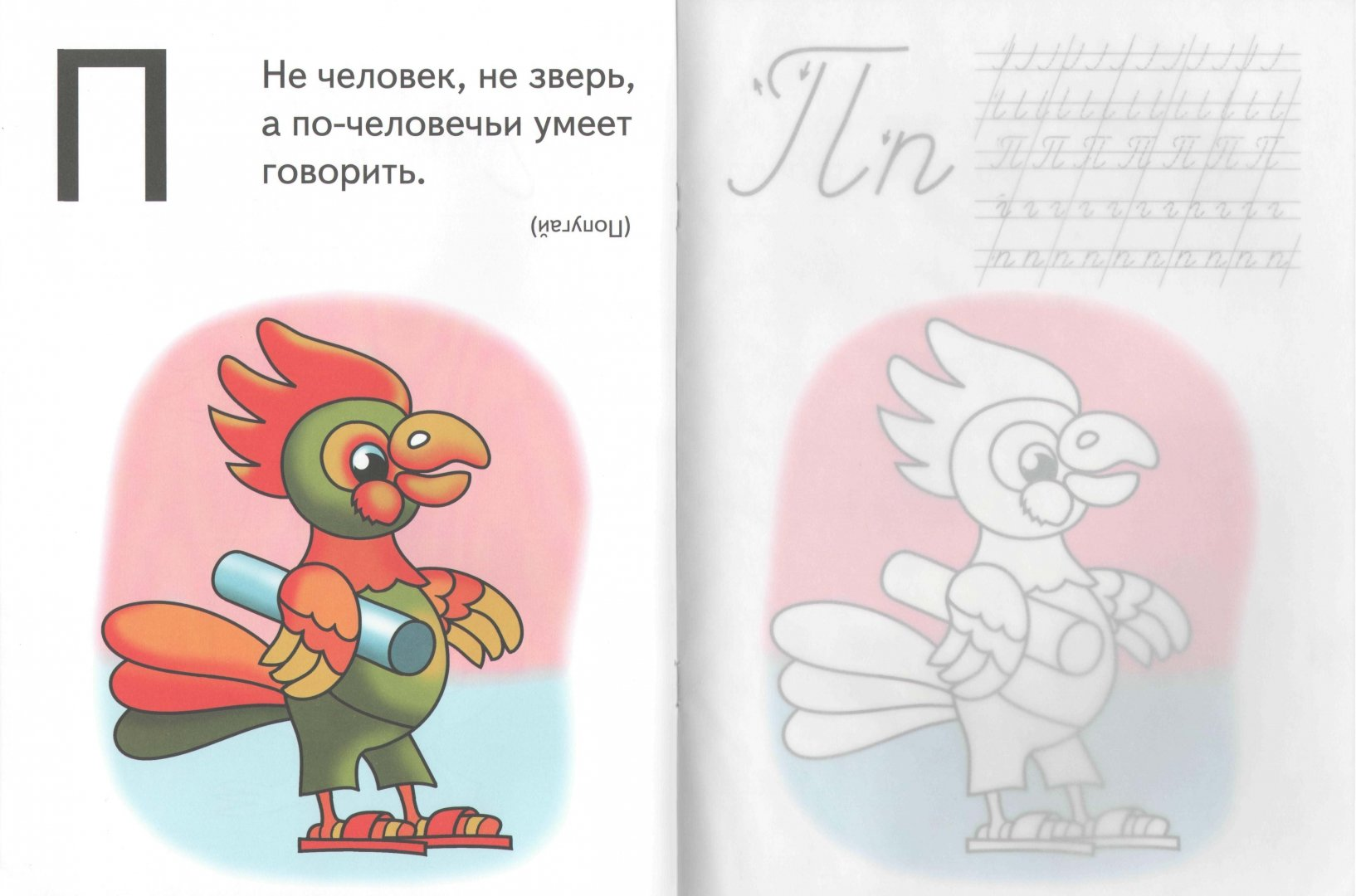 Иллюстрация 1 из 5 для Прописи (попугай) - Игорь Куберский   Лабиринт - книги. Источник: Лабиринт