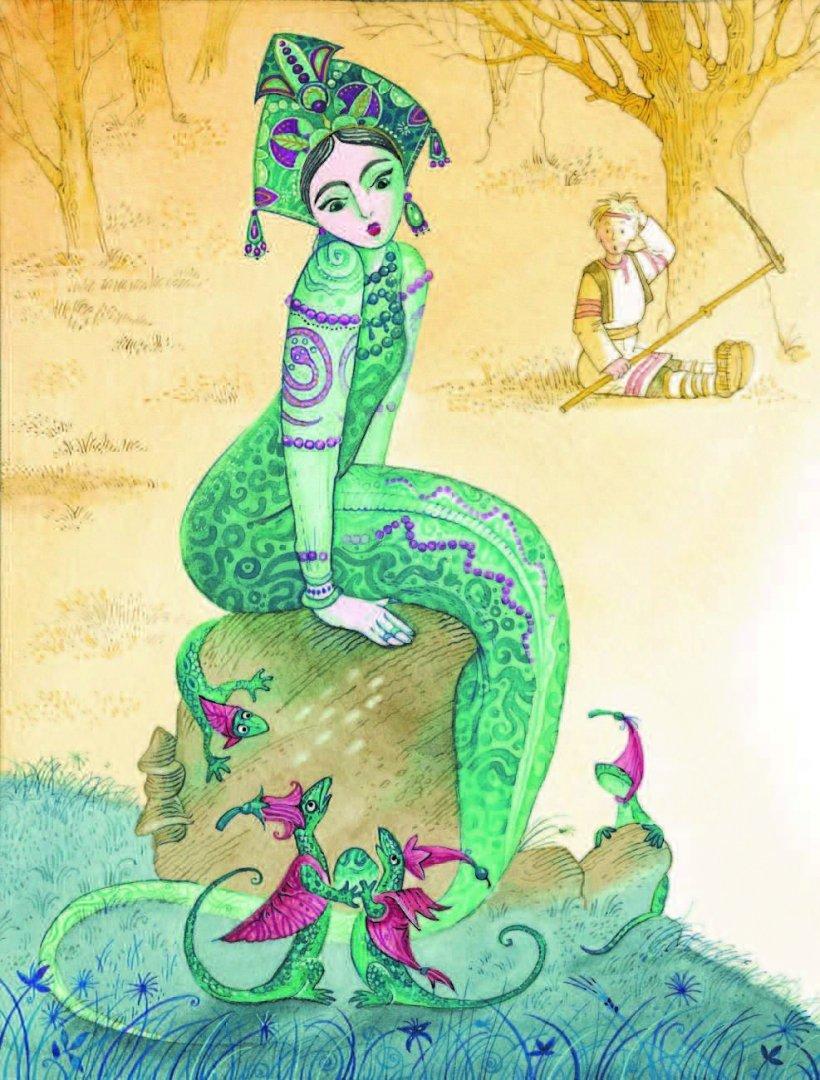 Иллюстрации к книгам бажова