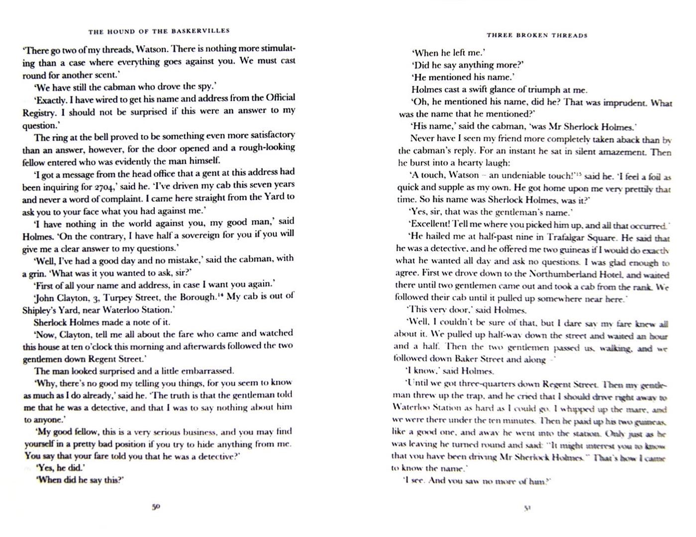 Иллюстрация 1 из 5 для The Hound of the Baskervilles - Arthur Doyle | Лабиринт - книги. Источник: Лабиринт