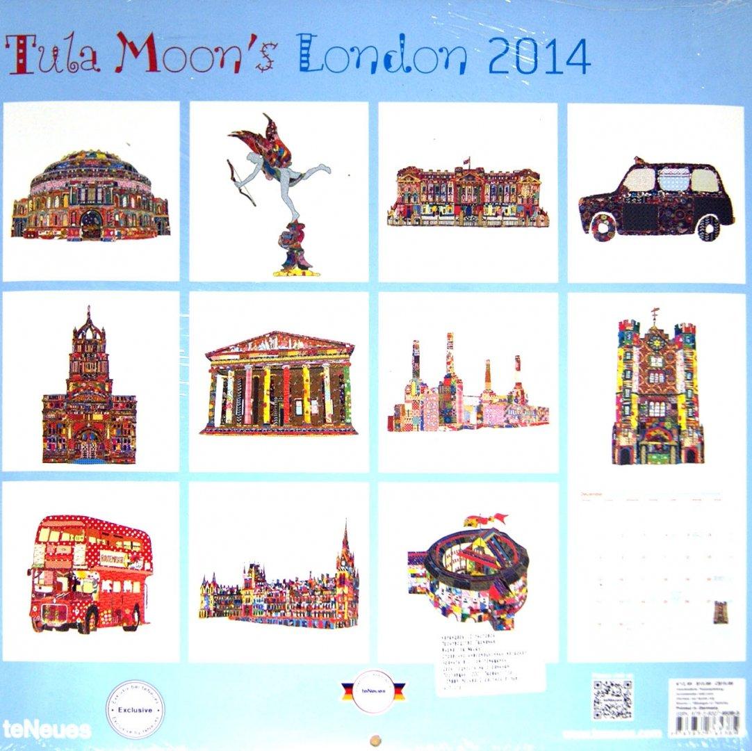 "Иллюстрация 1 из 2 для Календарь на 2014 год ""Лондон Тулы Мун"" (7-6538)   Лабиринт - сувениры. Источник: Лабиринт"