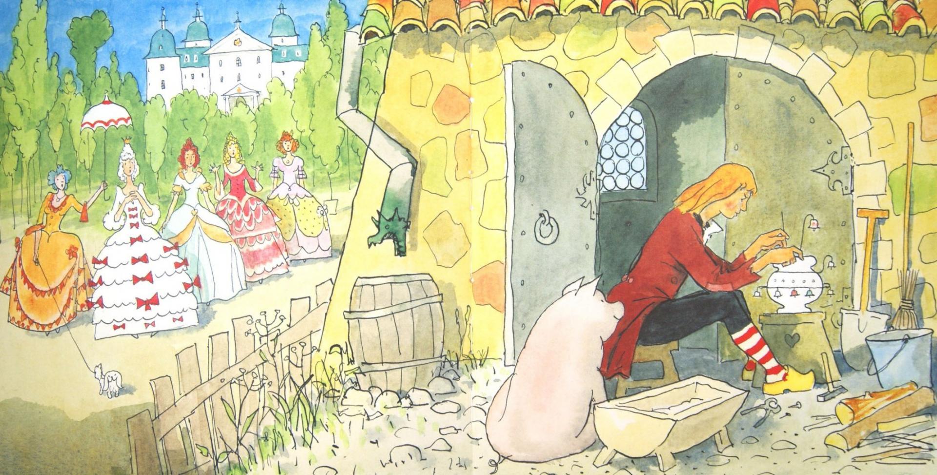 картинки из сказок андерсена свинопас решение