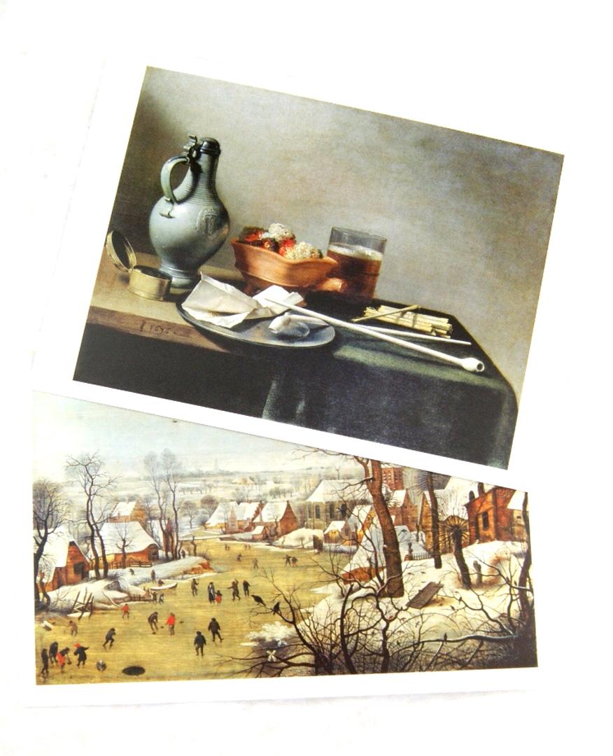 Иллюстрация 1 из 23 для Нидерланды. Фландрия. Голландия. Эрмитаж. Набор открыток. 16 штук   Лабиринт - сувениры. Источник: Лабиринт