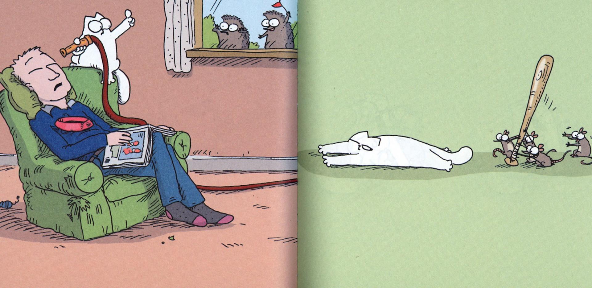 Иллюстрация 1 из 11 для Кот Саймона. Вставай! (мини) - Саймон Тофилд   Лабиринт - книги. Источник: Лабиринт