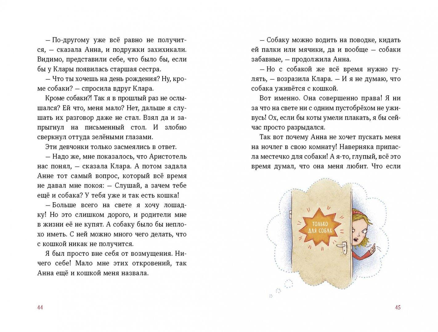 Иллюстрация 3 из 36 для А кота спросить забыли? - Аннетте Херцог | Лабиринт - книги. Источник: Лабиринт