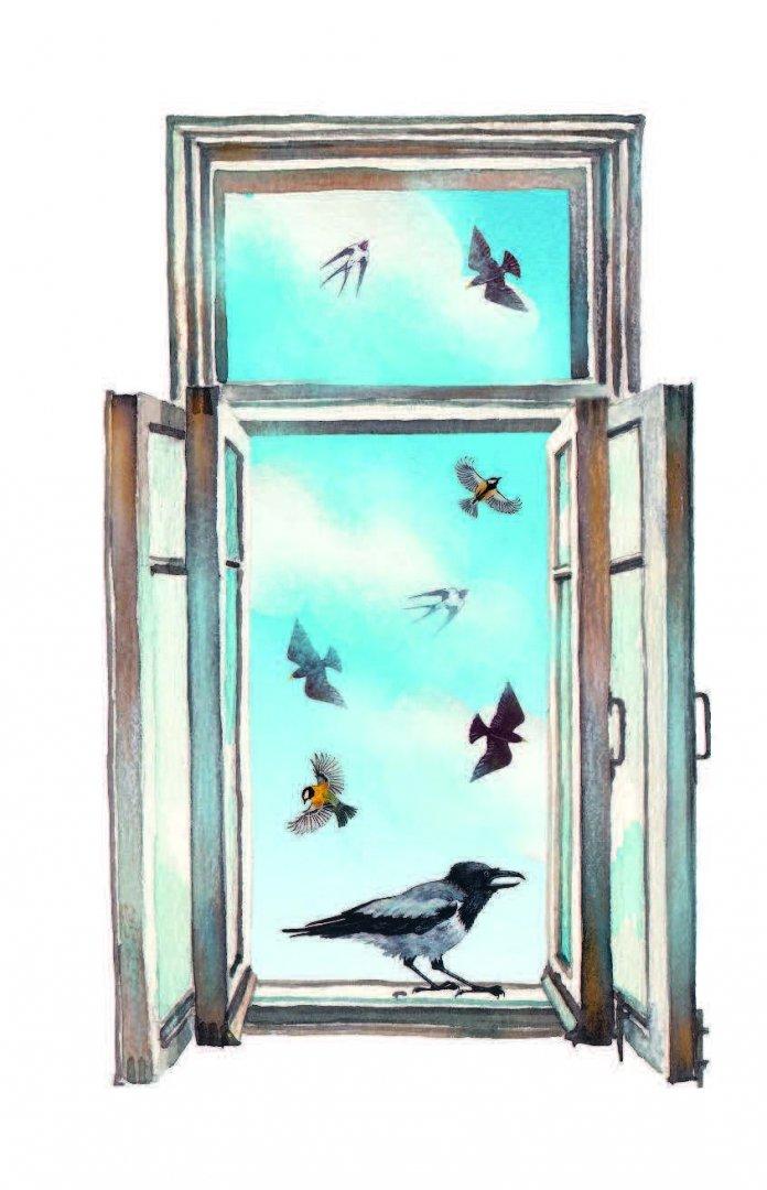 некоторой картинки звери и птицы на книжных страницах когда-то был