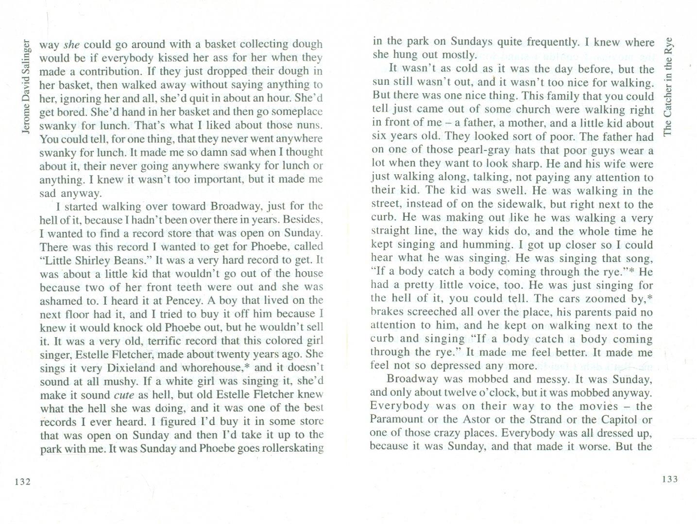 Иллюстрация 1 из 16 для The catcher in the rye - Jerome Salinger | Лабиринт - книги. Источник: Лабиринт