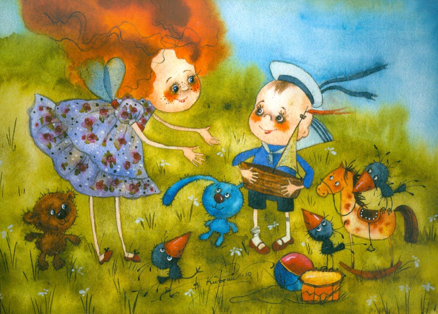Иллюстрация 1 из 43 для Я желаю тебе счастья! Набор открыток - Виктория Кирдий   Лабиринт - сувениры. Источник: Лабиринт