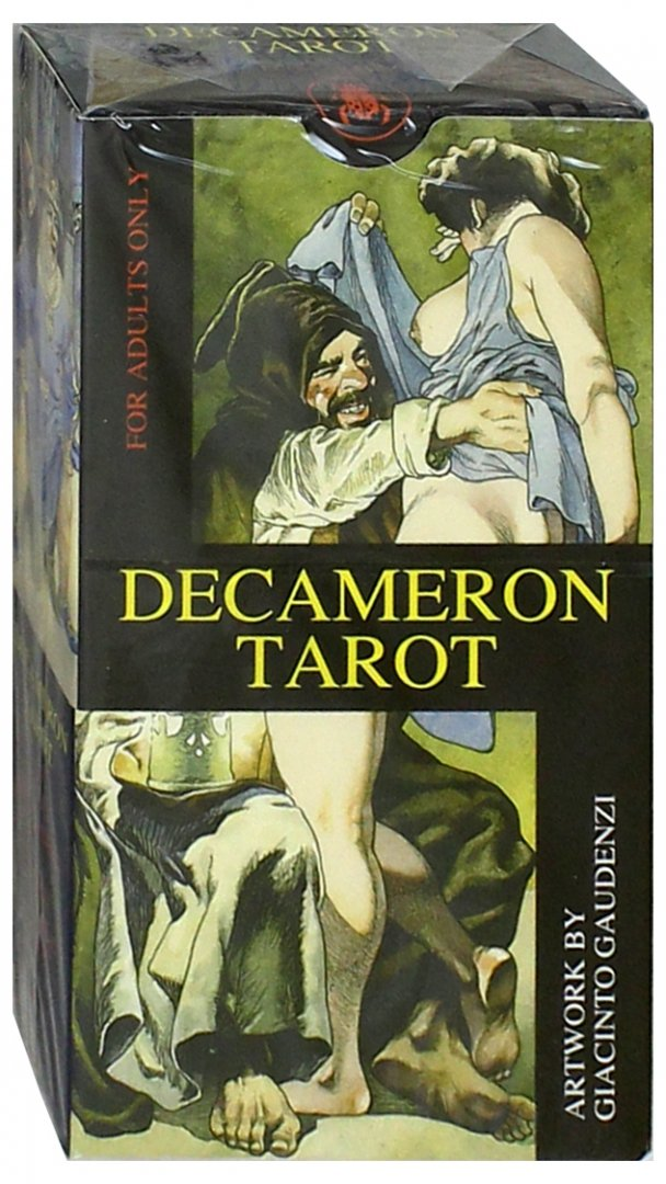 "Иллюстрация 1 из 46 для Таро ""Декамерон"" - Лучано Спадано | Лабиринт - книги. Источник: Лабиринт"