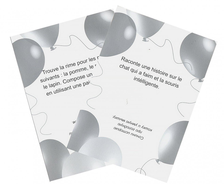 Иллюстрация 1 из 13 для Обучающие фанты для детей. Французский язык (29 карточек) | Лабиринт - книги. Источник: Лабиринт