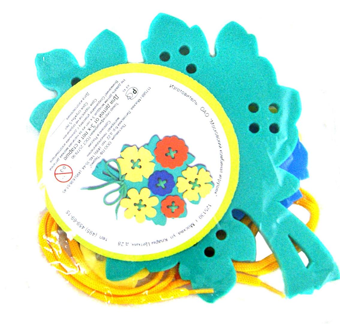 """Иллюстрация 1 из 3 для Шнуровка """"Букетик"""" (45323)   Лабиринт - игрушки. Источник: Лабиринт"""