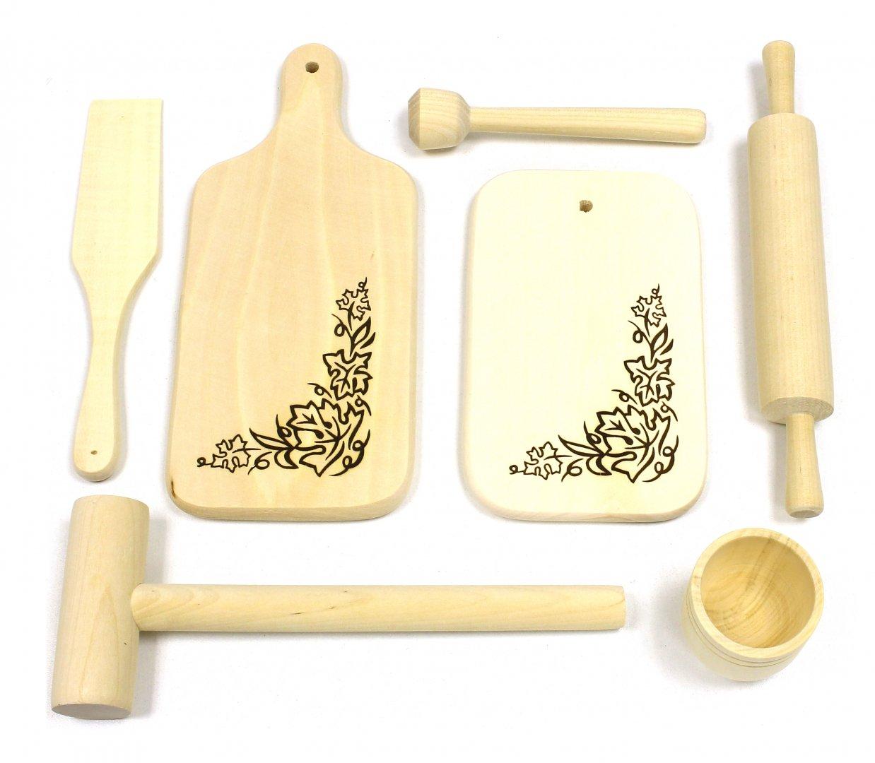 Иллюстрация 1 из 9 для Кухонный набор (7 деталей) (Д-386)   Лабиринт - игрушки. Источник: Лабиринт
