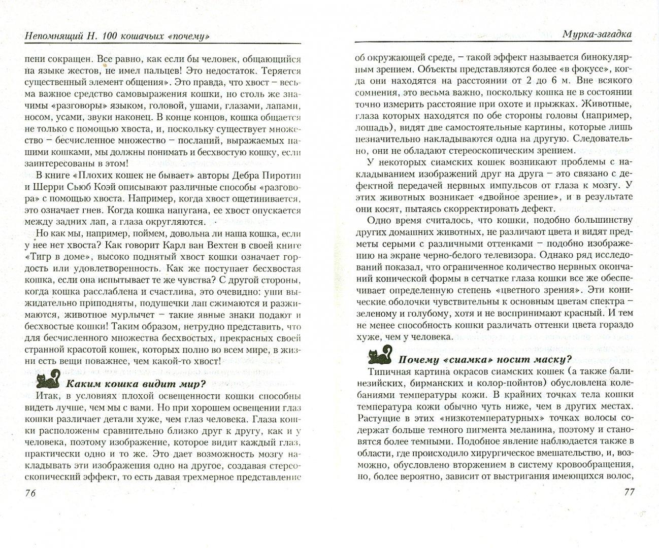 """Иллюстрация 1 из 34 для 100 кошачьих """"Почему"""". Вопросы и ответы - Николай Непомнящий   Лабиринт - книги. Источник: Лабиринт"""