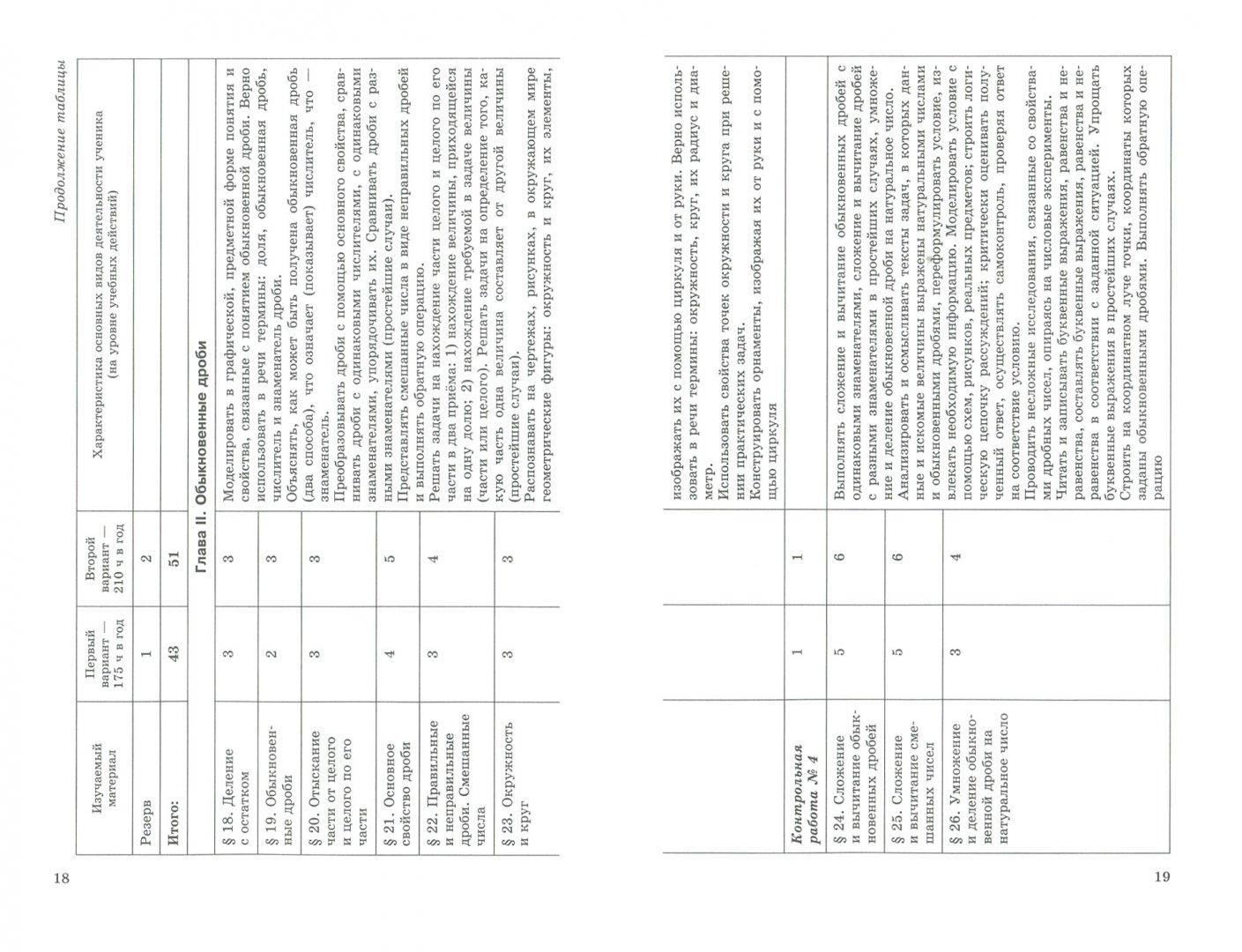 Иллюстрация 1 из 5 для Математика. 5-6 классы. Рабочая программа. ФГОС - Зубарева, Борткевич | Лабиринт - книги. Источник: Лабиринт
