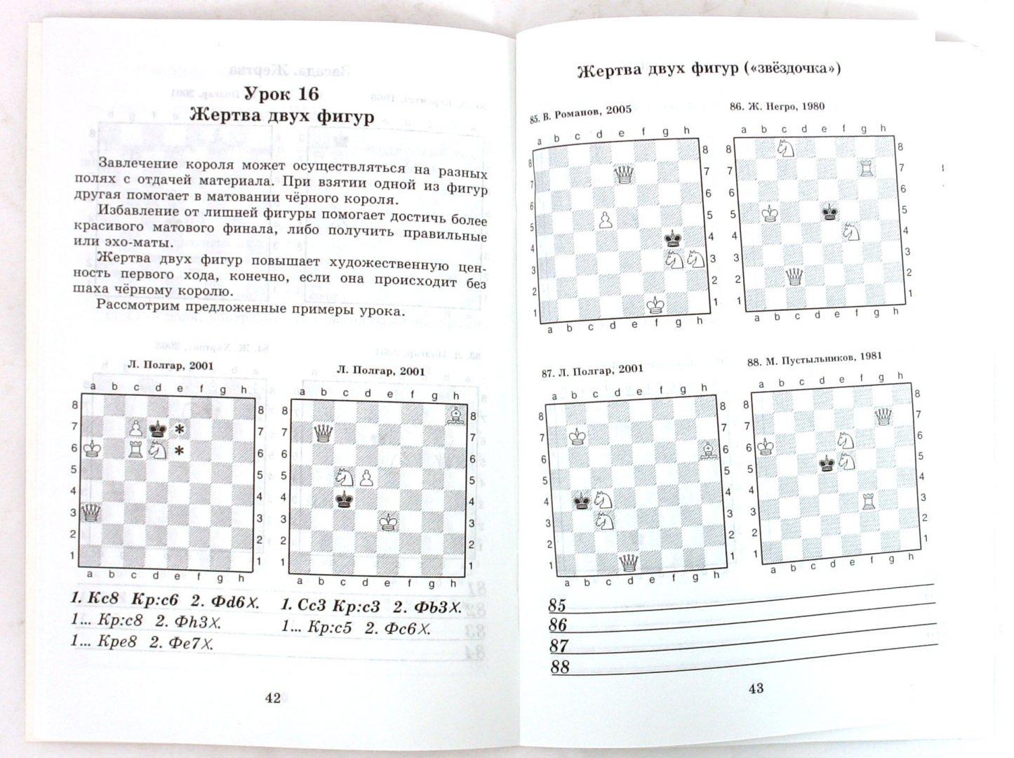 Иллюстрация 1 из 2 для Шахматные задачи: Мат в 2 хода. 6 фигур - Костров, Рожков | Лабиринт - книги. Источник: Лабиринт